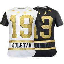 Mens T Shirt Soul Star Top American Baseball PVC Short Sleeved Diamond Summer