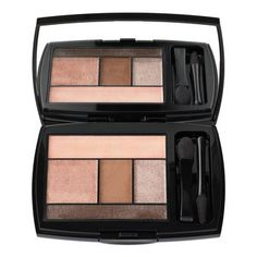 """Multi-season hues that make for a bronzey glamcat. """"Taupe Craze"""" Color Design palette by Lancome. ($48)"""