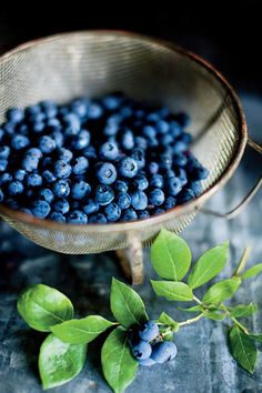 11 Foods at Their Peak in July: Blueberries
