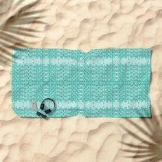 Gap Teal Lacy Wave pattern BEACH TOWEL designed by We~Iv. Bath towel also available Presents For Friends, My Themes, Website Themes, Good Cause, Wave Pattern, Beach Towel, My Design, Gap, Waves