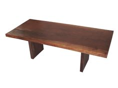 Walnut solid slab wood dining table Rotsen