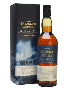 Talisker 2002 / Distillers Edition Scotch Whisky - My wonderful Birthmas present! Two bottles this Year!
