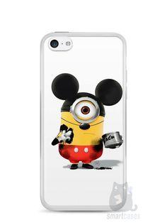 Capa Iphone 5C Minions Mickey Mouse - SmartCases - Acessórios para celulares e tablets :)