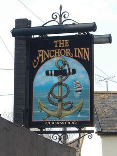 Pub sign in Cockwood South Devon | Flickr
