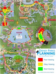 Disney Parks Planning: Parade & Firework Viewing at Walt Disney World