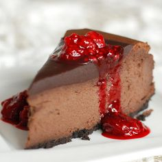 LIVER CIRRHOSIS DIET DESSERT - Raw Vegan Chocolate Cheesecake Recipe with Berry Topping. Reverse & treat liver cirrhosis by following a liver cleansing raw food diet & completing a series of liver flushes. Learn how to do the advanced LIVER FLUSH recipe protocol & cure cirrhosis of the liver https://www.youtube.com/watch?v=EC9ewx7LsGw I LIVER YOU
