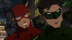 Justice League: WAR - Flash and Green Lantern