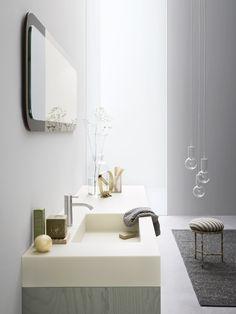 MOODE 洗面化粧台 by Rexa Design デザイン: Monica Graffeo