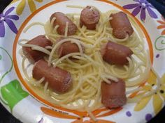 Octopus hotdogs by Toddler approved