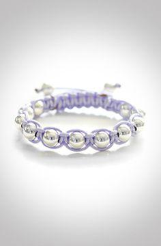 Silver Lavender Bracelet by Premium Co.