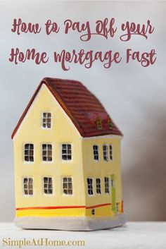 We all know owning a home is a big step. It's one of the biggest if not the biggest purchase you will make in your entire life. Yourhome mortgage will also be the biggest debt you occur in your lift. Sometimes the weight of thatdebt can make you want to scream. You pay yourhome mortgage...Read More »