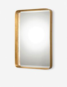 This elongated mirror is framed in an elegant metal, lightly brushed with gold leaf. For a feminine touch, add our Tayla Mirror to your entry or bedroom. Japanese Bed, Mirrored Nightstand, Metal Mirror, Gold Mirrors, Small Mirrors, Living Room Shop, Machine Made Rugs, Rustic Bathrooms, Branding Design