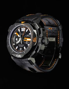 Clerc Watches Hydroscaph Central Chronograph Limited Edition