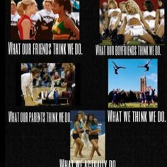 Cheerleaders.