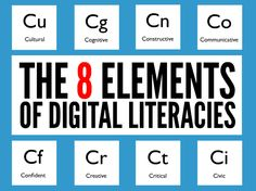 The Eight Elements of Digital Literacies