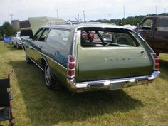 1972 Dodge Polara Custom Wagon