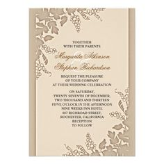 elegant outstanding vintage wedding invitations with bright and clean floral design, for classic weddings.