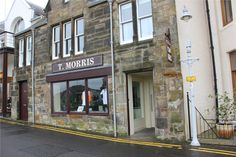 The Tom Morris Shop; the oldest Golf Shop in the World. Located along the 18th fairway at the Old Course - St. Andrews, Scotland