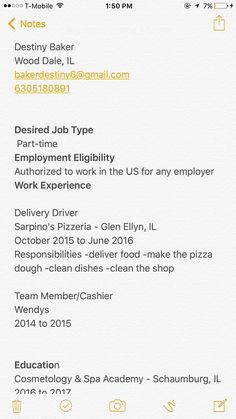 Pizza Delivery Resume Pinlaurie Mcbee On Pagan Health  Pinterest