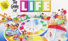 The game of LIFE (board game) -This was one of my favorite games. Life Board Game, Fun Board Games, Fun Games, Best Games, Games To Play, Game Of Life, Old School Board Games, Classic Board Games, Dice Games