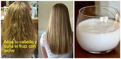 Descubre cómo puede ayudarte un ingrediente tan sencillo como la leche para conseguir una melena lisa y bonita