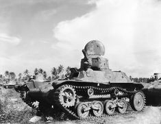 Japanese type 97 tankette