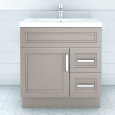 Cutler Kitchen U0026 Bath Urban Daybreak Contemporary Bathroom Vanity 30 In X  22 In The Urban Collection Offers A Transitional Yet Slightly More Conteu2026