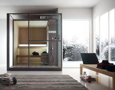 Lógica Sauna de la firma Effegibi. #interiorismo #saunas