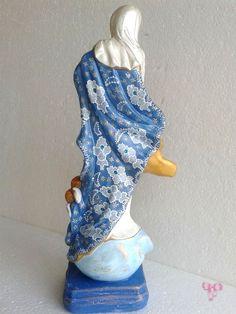 Nossa Senhora da Conceição Barroca - peça confeccionada pelo Ateliê.