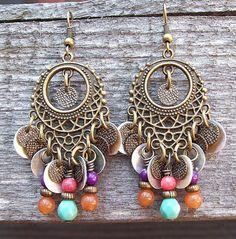 Seasons Change - Gypsy Chandelier Earrings