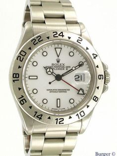 Rolex Explorer II 16570... #Rolex Rolex Explorer Ii, Rolex Watches, Accessories, Watch, Men Styles