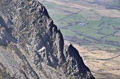 Cadair Idris via Minffordd Path: Cyfrwy Arete