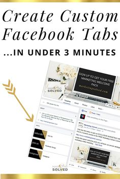 Create Custom Facebook Tabs in under 3 minute. Video Tutorial. + Facebook Video Tutorial, + Social Media Video Tutorial, + Video Tutorial