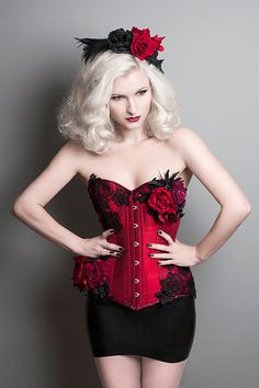 6ebd5f336fa Bespoke steel boned corset decorated in your choice of lace