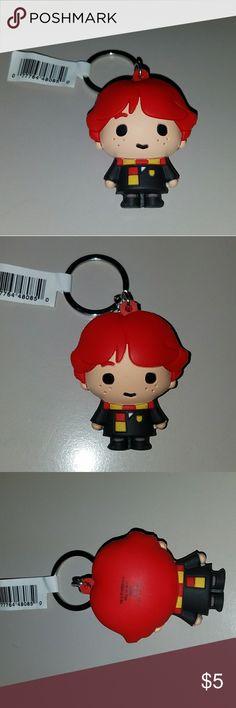 HARRY POTTER - Ron Weasley Key Chain NEW Harry Potter Ron Weasley Key Chain Accessories Key & Card Holders