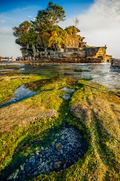 Tanah Lot water Temple ~ Bali Indonesia