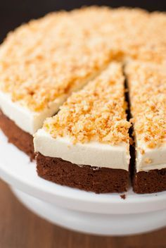 Sägespäne-Torte ohne Paradiescreme