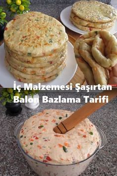 Balloon Bazlama recipe that surprises the inner material recipes backen backen rezepte bread bread bread Snack Recipes, Dinner Recipes, Cooking Recipes, Healthy Recipes, Snacks, Bread Recipes, Turkish Recipes, Ethnic Recipes, Turkish Kitchen
