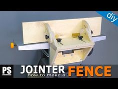 Homemade Tilting Fence for my cheap Jointer-Planer combo How To Make Fence, Woodworking Plans, House Plans, Old Things, Shelves, Homemade, How To Plan, Storage, Diy