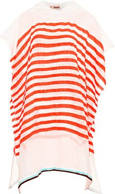 Love this: Lilly Striped Hooded Poncho @Lyst