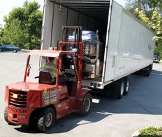The trucks are loaded and on their way to Sacramento! Be sure to stop by the APS booth at StampShow, August 16-19 at the Sacramento Convention Center, and have a chat with the staff. www.stamps.org/StampShow