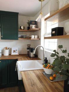 Home Interior Kitchen .Home Interior Kitchen Home Decor Kitchen, Rustic Kitchen, New Kitchen, Home Kitchens, Kitchen Ideas, Open Shelf Kitchen, Kitchen Modern, Small Kitchens, Kitchen Layout