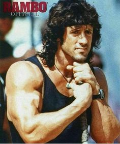 A gallery of Rambo III publicity stills and other photos. Featuring Sylvester Stallone, Richard Crenna, David Morrell, Peter Macdonald and others. Action Movie Stars, Action Movies, Silvestre Stallone, Rambo 2, Sylvester Stallone Rambo, Stallone Rocky, Creed Movie, Fire And Desire, Just Beautiful Men