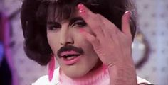 New party member! Tags: music video queen 70s 1970s freddie mercury classic rock rock music i want to break free 1970s music
