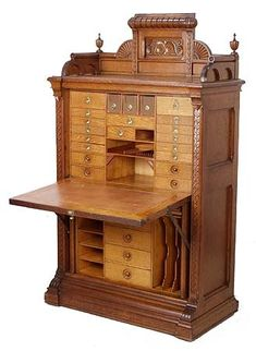 Vintage Furniture | wooden secretary....