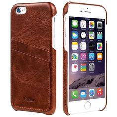 Custodia per iphone 7/8 plus sottile pelle rosso - Apple Miglior