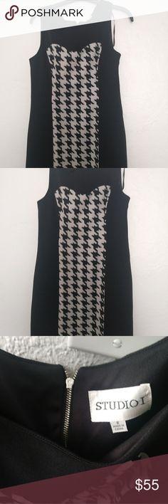 Beautiful dress in good condition Black and cream dress Studio Dresses