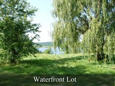 Alfred LOT for sale:  Waterfront Lot