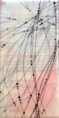 Lines and dots. Artist unknown.