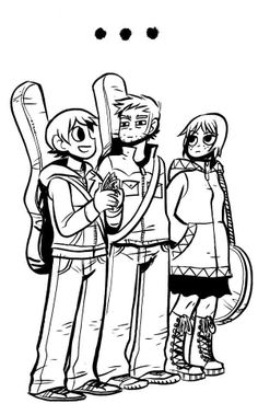Scott Pilgrim by Brian Lee O'Malley